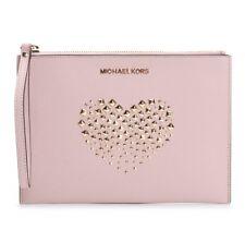 b62dd3ac3e6fe Michael Kors tasche clutch bag Adele clutch zip saffiano ballet neu