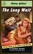 The Long Wait by Mickey Spillane-Vintage Signet Paperback First Printing-1952