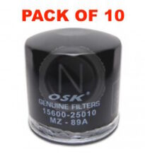 OSAKA OIL FILTER OZ89A INTERCHANGEABLE WITH RYCO Z89A (BOX OF 10)