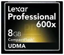 CompactFlash * 8 GB * lexar * Professional 600x UDMA