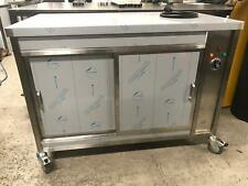 More details for counter top hot cupboard on wheels 1800 x 700 x 900. new, made to order