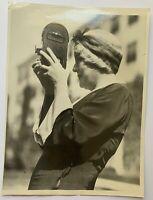 Vintage 1932 ACME Newspictures Photograph Mary Boland Hollywood Original Caption