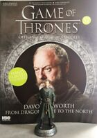 Game Of Thrones GOT Official Collectors Models #57 Davos Seaworth Figurine NEU