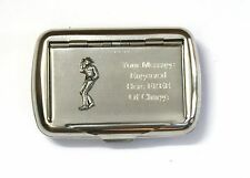 Cow Boy Tobacco Hand Rolling Ups Cigarette Tin FREE ENGRAVING Riding Gift