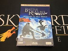 Battle Realms édition complète complet jeu Winter of the Wolf-PC CD ROM working