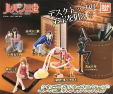 BANDAI DESKTOP RUPAN SANSEI VOL.1 LUPIN THE 3RD GASHAPON SET 5 FIGURE NUOVO NEW