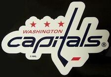 Window Bumper Sticker NHL Hockey Washington Capitals NEW