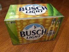 Case of Busch Light Corn Can Aluminum Bottles For The Farmers