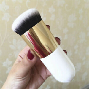 Flat Buffer Wooden Liquid Foundation Powder Contour Bronzer MakeUp Brush UK