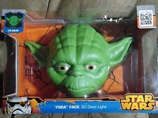 Disney STAR WARS Yoda 3D FX Deco Cracked Wall LED Nightlight Bedroom         E-1