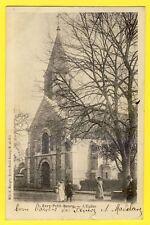 CPA Vue pas courante EVRY en 1904 (Essonne) L'ÉGLISE à Georges BONNETON