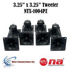 """8 pieces 3.25"""" x 3.25"""" Piezo Tweeter Car Audio DJ Speaker Super Horn"""