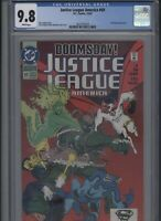 Justice League America #69 CGC 9.8 DOOMSDAY 1992 Superman