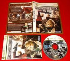 RESONANCE OF FATE  XBOX 360 Versione Ufficiale Italiana 1ª Ed ○ COMPLETO - FG