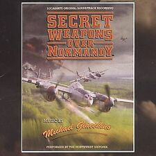 Secret Weapons Over Normandy Soundtrack - Michael Giacchino - MUSIC CD -NEW F866