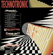 TECHNOTRONIC - Megamix, Raw Update (Remix) - 1990 New Music - NMX 370