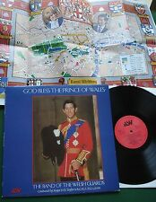 God Bless The Prince of Wales Band of The Welsh Guards Cond by Major Taylor LP