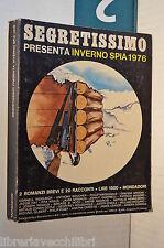 INVERNO SPIA 1976 2 Romanzi brevi e 20 racconti Cornell Woolrich TOKYO HOLMES di
