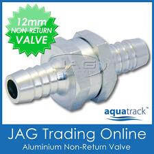 "12mm (1/2"") ALUMINIUM ONE WAY NON-RETURN CHECK VALVE - Fuel/Diesel/Water/Marine"
