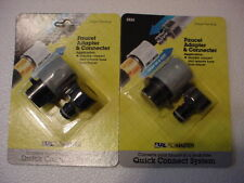 (2 ) - FLOMASTER  Garden-Water-Hose-Quick-Release-Connect-Coupler-Adapter Sets
