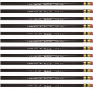 Prismacolor Col-erase Erasable Colored Pencil - Brown - 20043 - 12PC