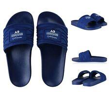 28eb8ca5e34fe AUTHENTIC ADIDAS Y-3 YOHJI YAMAMOTO BLUE ADILETTE SLIDES SANDALS. UK 7 - EU