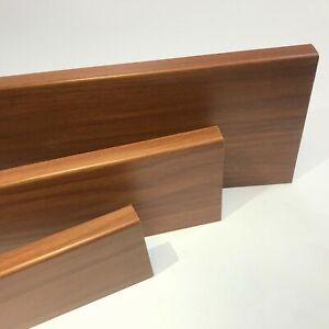 Skirting & Architrave Boards - Bullnose - Foiled MDF - White, Oak, Grey, Walnut