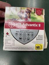 K9 Advantix Ii Topical Large Dog Flea & Tick Treatment, Pack of 3