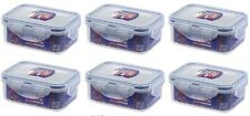 6 X Lock & Lock 350ml Rectangle Food Container  HPL806