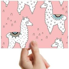 """Cute Cartoon Llama Lama Animal Small Photograph 6""""x4"""" Art Print Photo Gift #8292"""