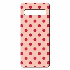 For Samsung Galaxy S10 Silicone Case Abstract Dots Pattern - S4823