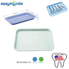 Easyinsmile Dental Instruments Flat Tray Surgical Medical Equipment 24516722mm