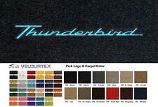 Lloyd Mats Ford Thunderbird Custom Velourtex Front Floor Mats (1955-1966)