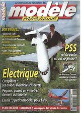 MODELE MAG N°646 PLAN : HARBINGER 2 / VOL DE PENTE OU VOL DE PLAINE / SCAN'AIR