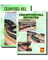 Crawford Hill - 2 DVD Set - Burlington Northern BNSF Powder River Highball Train