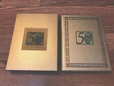The Hobbit J. R. R. Tolkien 50th Anniversary Edition Gold Slipcase Illustrated