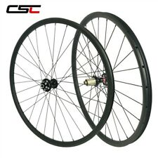 29 inch MTB Carbon Bike Wheel 30x25mm Tubeless XC AM Hookless MTB Wheelset