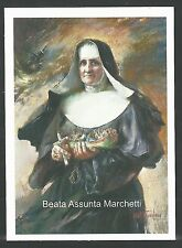 Estampa de la Beata Assunta Marchetti andachtsbild santino holy card santini