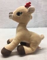 """Rudolph The Red Nosed Reindeer Clarice Plush Doll 7"""" Christmas Love Security"""