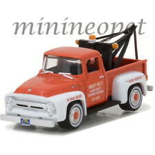 GREENLIGHT 97010 A THE HOBBY SHOP 1956 FORD F-100 TRUCK w DROP IN TOW HOOK 1/64
