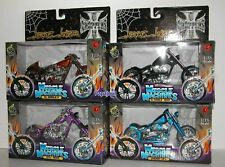 Muscle Machines Jesse James West Coast Choppers Set 2 B 2003 El Diablo Rigid WCC