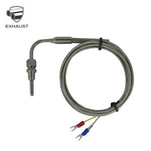 """EGT Temperature Sensors w 90° Bend 1/8"""" NPT Compression Fittings & 4m Cable"""