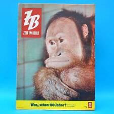 DDR Zeit im Bild ZB NBI 23/1961 Weisse Flotte Zoo Dresden Mode Kanu-WM Tibet