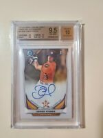 2014 Bowman Chrome Derek Fisher RC Rookie Autograph (BGS 9.5 Gem Mint) AUTO 10