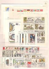 1982 MNH Czechoslovakia year collection including block 46-52