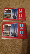 QTY 2 - Chicago Transit Map CTA Bus 'L'  -  2003 Subway UPass Map