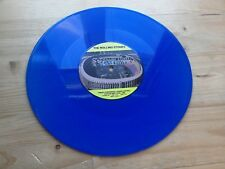 """Rolling Stones 1989 Steel Wheels Press Conference 10"""" BLUE Vinyl Record Porky"""