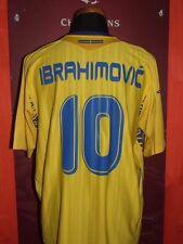 IBRAHIMOVIC SWEDEN 2007 MAGLIA SHIRT CALCIO FOOTBALL MAILLOT JERSEY SOCCER