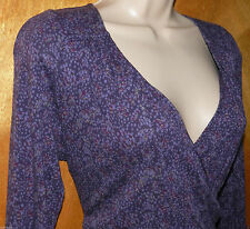 Cotton Blend Long Sleeve Floral Jumper Dresses