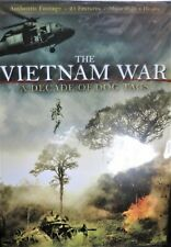 The Vietnam War: A Decade of Dog Tags NEW! 2DVD, 21 Features , 8 Hours Authentic